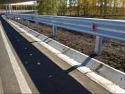 Дорожные металлические барьерные ограждения  - foto 3