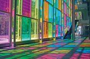 Разноцветные стеклопакеты