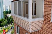 Как и чем обшить балкон снаружи